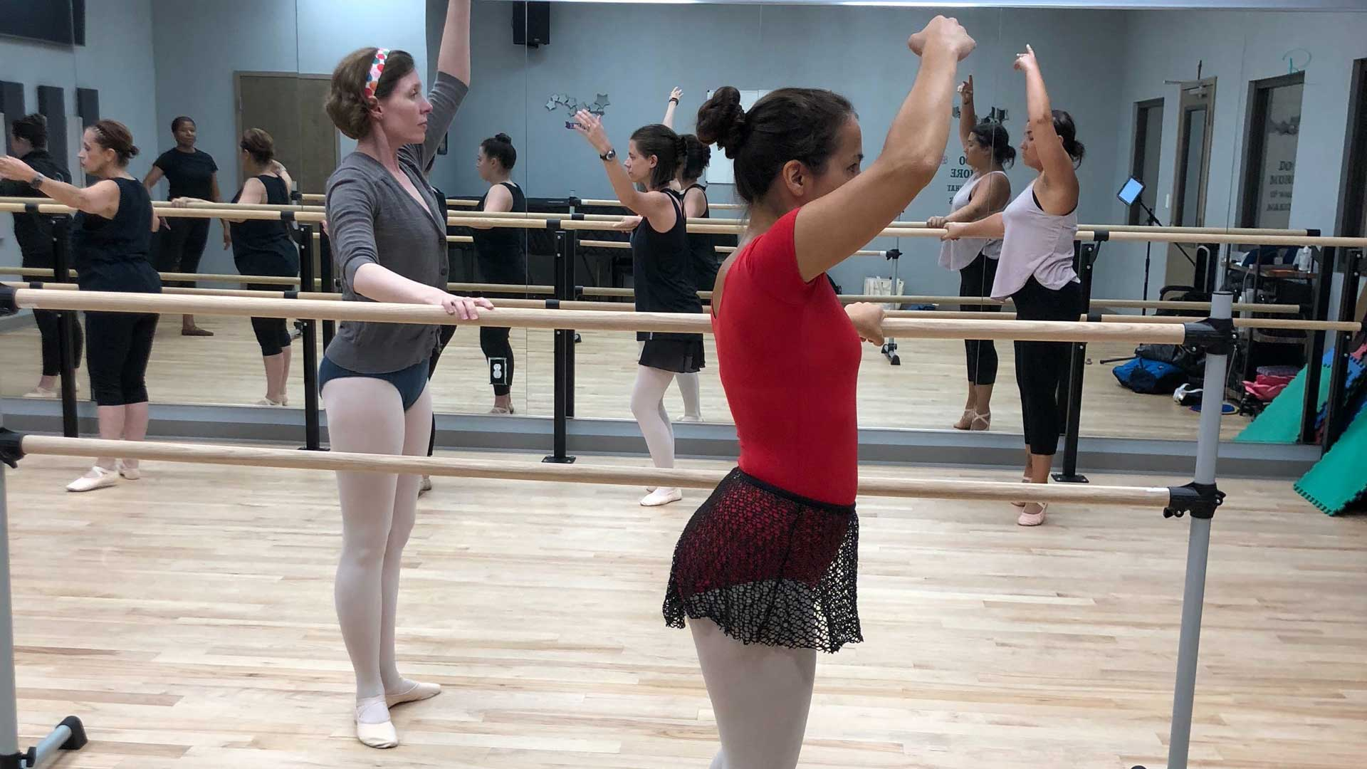 Dance Instruction for Adults in Ballet, Hip-Hop, Tap, Modern, Contemporary and more in New Orleans, Mandeville, Covington