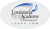 Louisiana Academy of Performing Arts (LAAPA) Logo