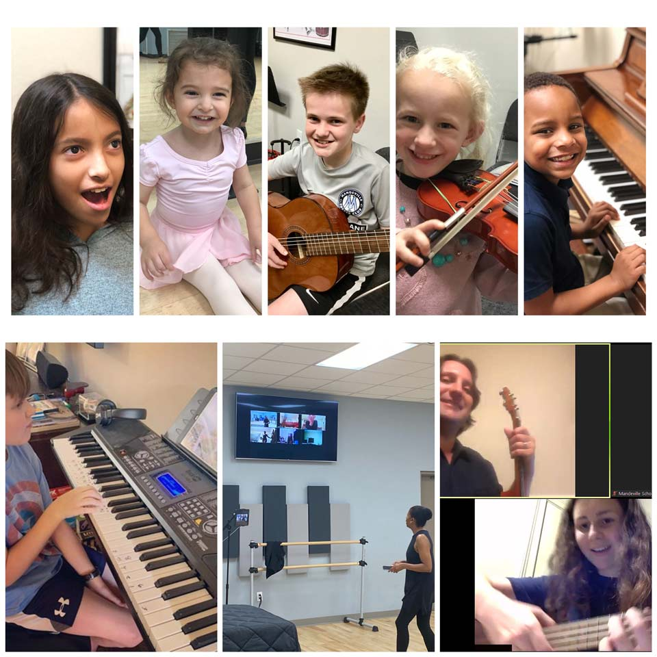 Live Online or In-Studio Lessons and Classes