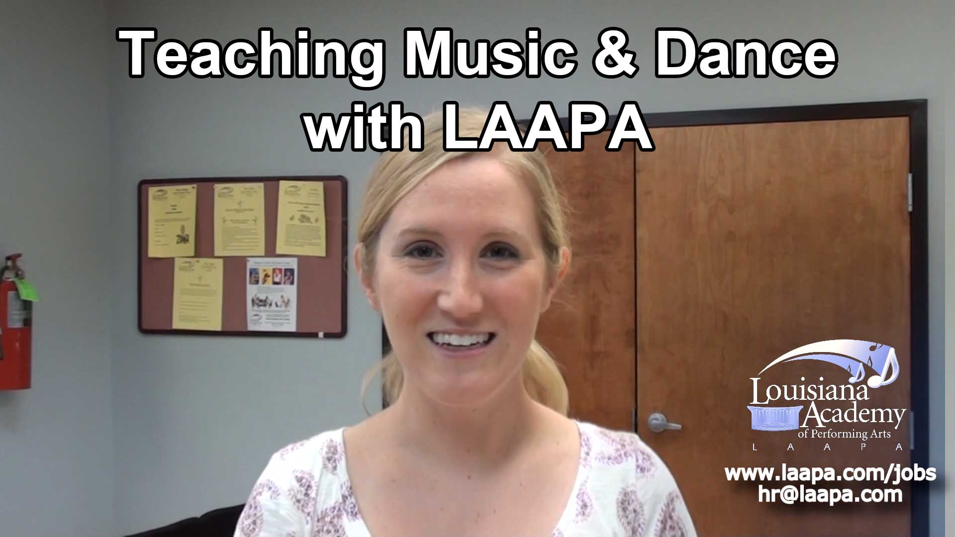 Employment Opportunities for Music & Dance Teachers at LAAPA in New Orleans, Covington, and Mandeville, LA