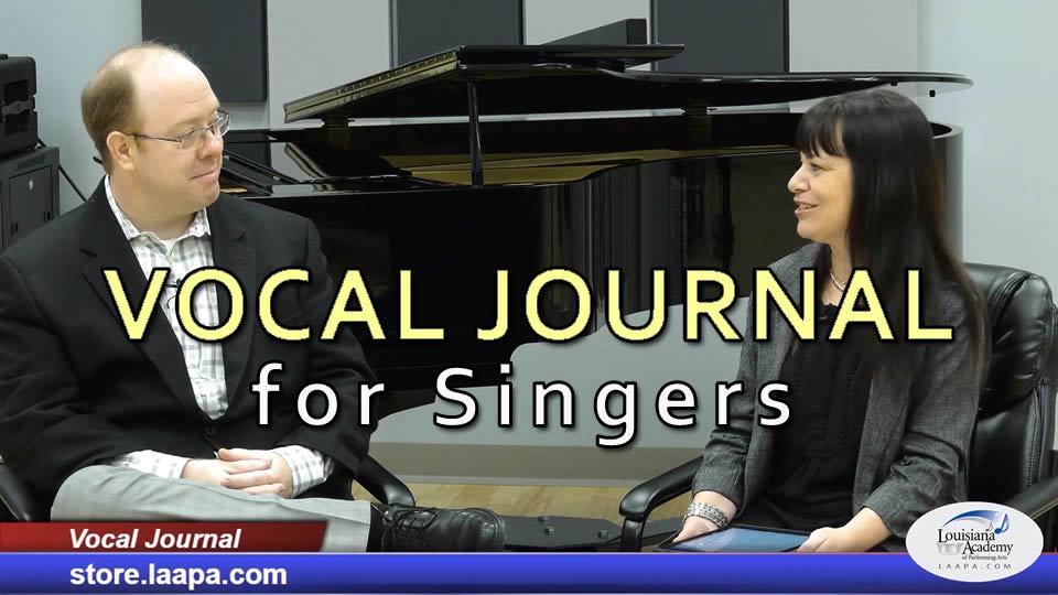 Learn how to chart your vocal progress with the Vocal Journal!